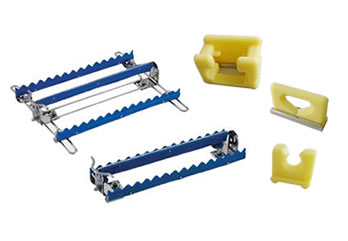 Five types of soft silicon clamps