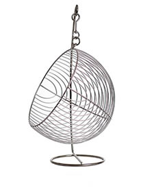 a fruit basket wfb12 with a swing ball for storing fruits