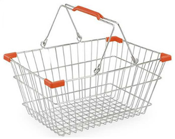 Wire Shopping Baskets With Wheels